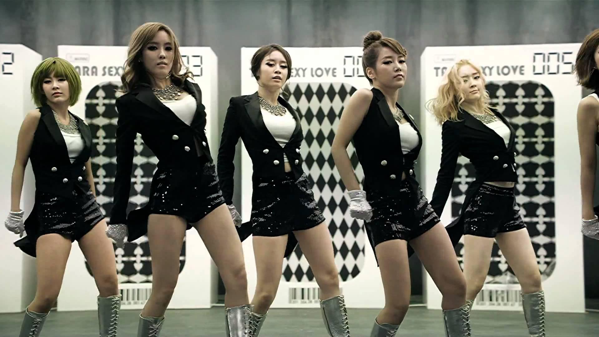 Tara korean group sexy love lyrics